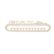 Медальница I LOVE CURLING