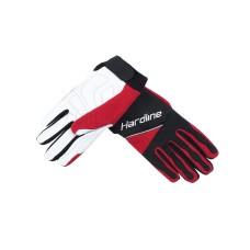 Перчатки для кёрлинга Hardline красные