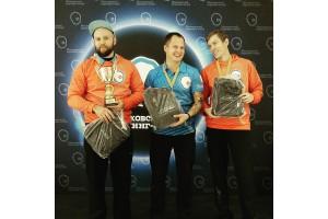 """Команда """"МКК-Раев"""" с призами от Curlingshop.ru"""
